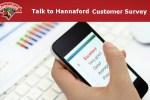 Talk to Hannaford Customer Survey - Win Gift Card