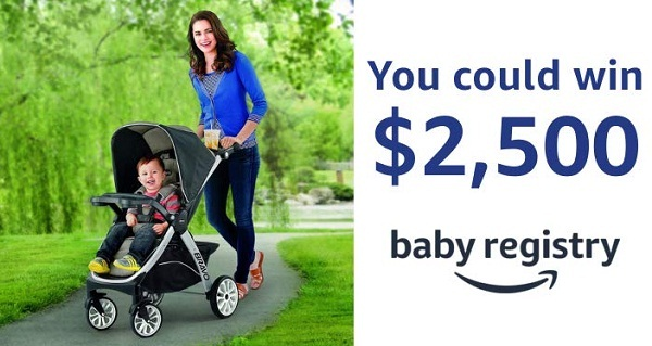 Amazon Baby Registry & Chicco Sweepstakes - Win Gift Card