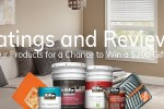 Behr Rate & Win Sweepstakes - Win Gift Card