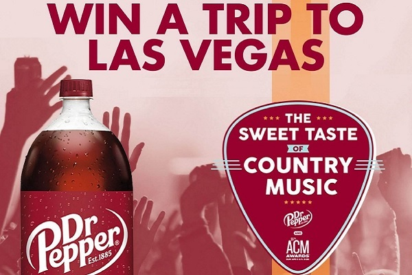 Dr Pepper ACM Awards Sweepstakes - Win Trip