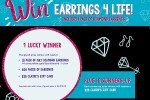 Claires Earrings 4 Life Sweepstakes - Win Gift Card