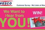 Go Wesco Listen Customer Feedback Survey - Win Gift Card