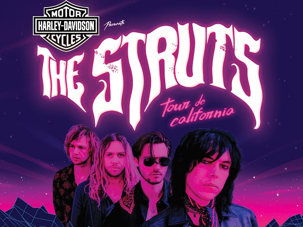 Interscope The Struts Sweepstakes - Win Tickets