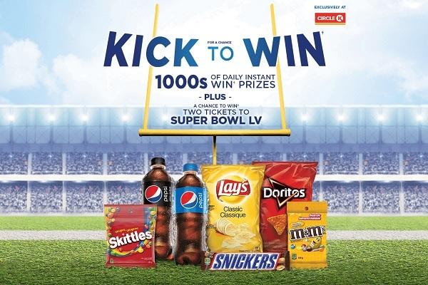 Circle K Kick To Win Contest - Win Tickets