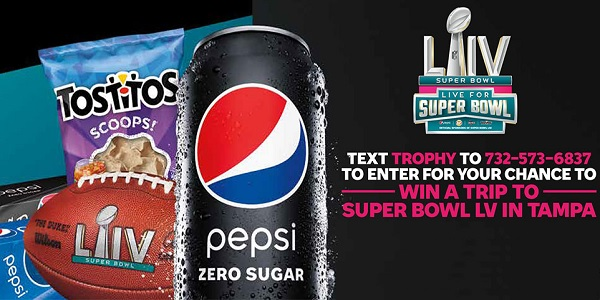 Pepsi and Tostitos Super Bowl LV Sweepstakes - Win Tickets