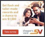 The Shoppers Voice Survey - Win Cash Prizes