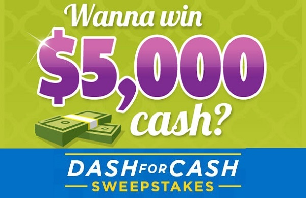 Valpak Dash for Cash Sweepstakes - Win Cash Prizes