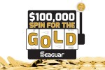 Seaguar Spin for the Gold Instant Win Game - Win Cash Prizes