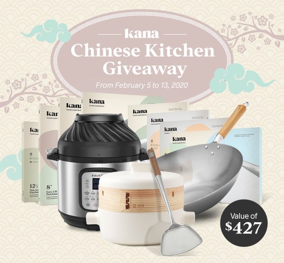 Kana Chinese Kitchen Giveaway - Win Prize