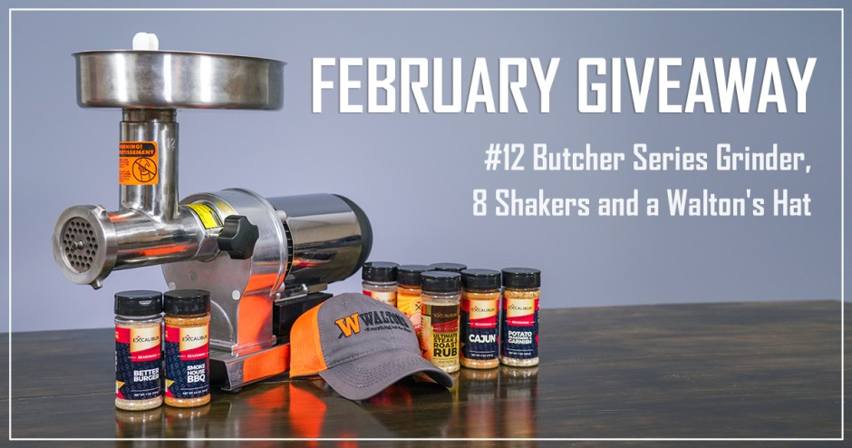 Waltons February Giveaway - Win Prize