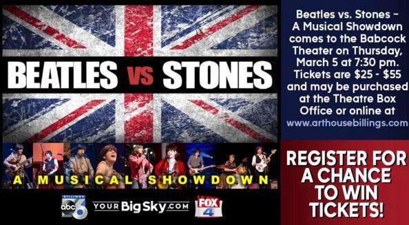 Beatles Vs Stones Tickets Sweepstakes - Win Tickets