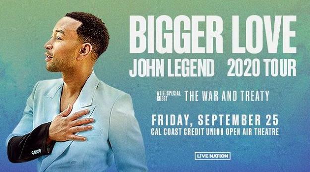 John Legend Tickets Sweepstakes - Win Tickets