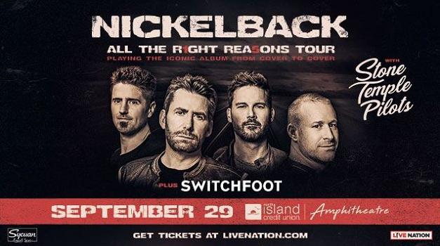 Stone Temple Pilots Switchfoot Sweepstakes - Win Tickets