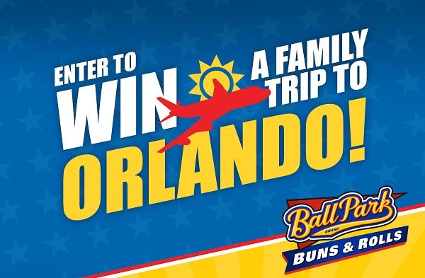 Ball Park Buns Orlando Sweepstakes - Win Tickets