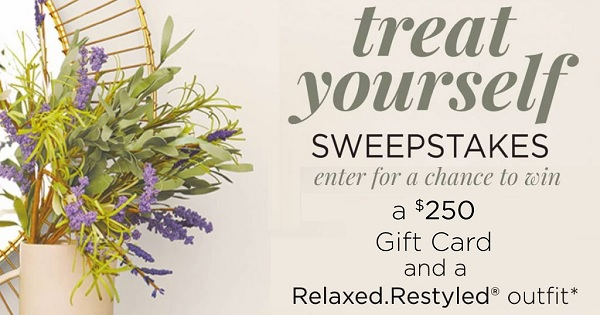 Relaxed Restyled Outfit Sweepstakes - Win Gift Card