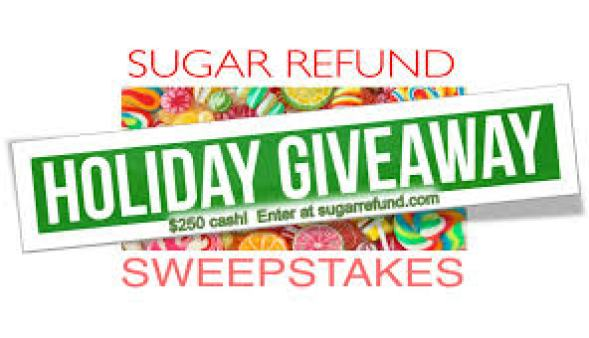 Sugar Refund Sweepstakes - Win Cash Prizes