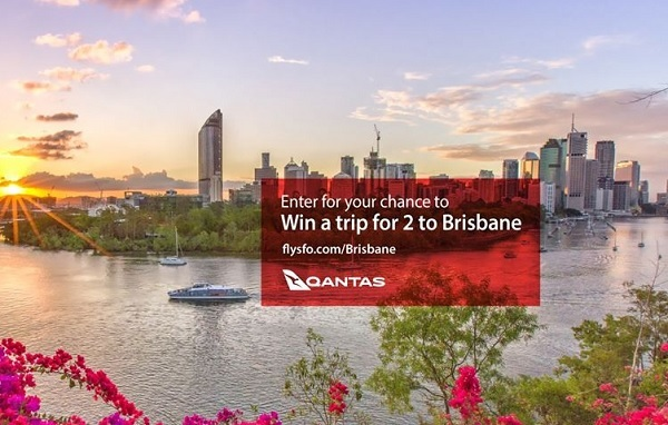 Brisbane Just A Hop Away Sweepstakes - Win Tickets