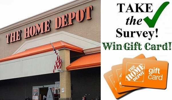 HomeDepot Customer Opinion Survey Sweepstakes