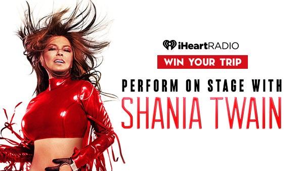 iHeartradio Shania in Vegas Sweepstakes - Win Tickets