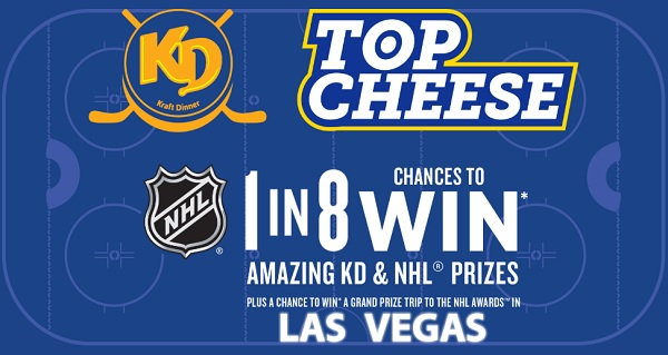 Kraft Top Cheese Contest 2020 - Win Tickets