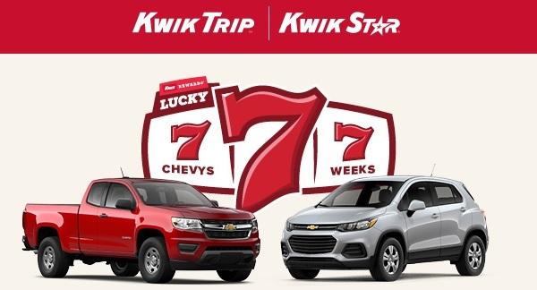 Kwik Trip Sweepstakes 2020 - Win Car