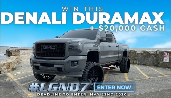LGND Supply Co Truck Giveaway