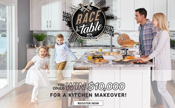 Smithfield Race To The Table Sweepstakes - Win Cash Prizes