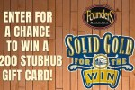 Founders Solid Gold for The Win Sweepstakes - Win Gift Card
