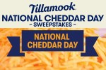 Tillamook National Cheddar Day Sweepstakes - Win Trip