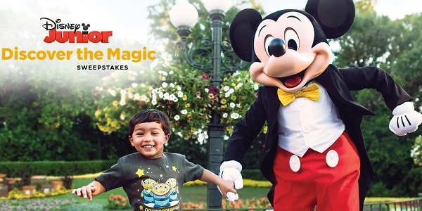 Disney.com Discover the Magic Sweepstakes