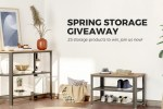 Songmics Spring Storage Giveaway - Win Prize