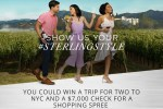 Sterling Style Sweepstakes and Contest - Win Trip