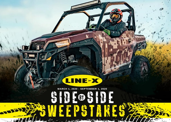 Line-X Side by Side Contest
