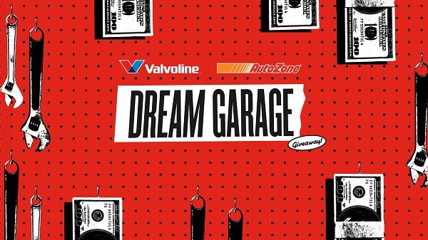 Valvoline Ultimate Dream Garage Sweepstakes