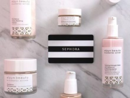 Alpyn Beauty Sephora Gift Card Giveaway