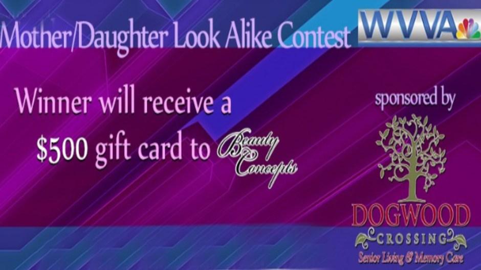 WVVA Mother Daughter Look Alike Contest 2020
