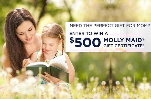 Molly Maid Mothers Day Giveaway 2020