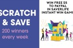Saver Life Scratch and Save Instant Win Game