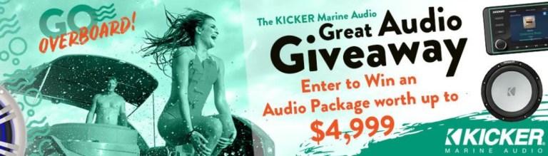 Boatingmag.com - Kicker Marine Audio Great Audio Giveaway
