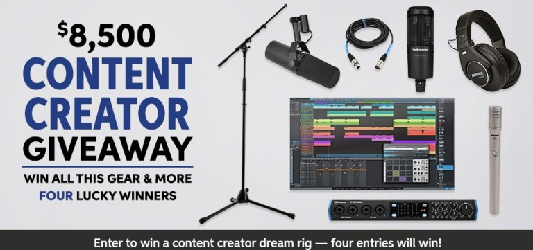 Sweetwater.com Monthly Gear Giveaway