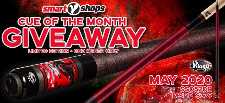 Vikingcue.com SmartShops Cue Of The Month Giveaway
