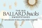 The Big Ballard Bucks Sweepstakes