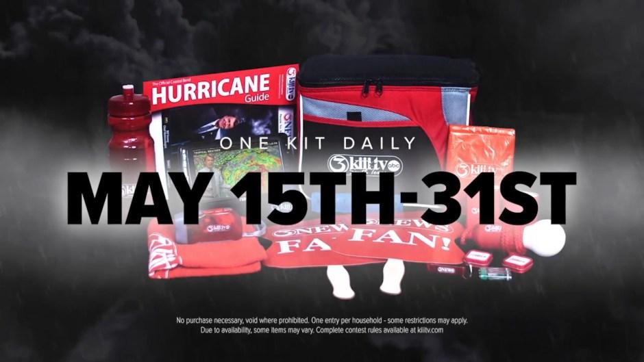 Kiiitv.com Hurricane Kit Contest