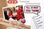 HEB Customer Satisfaction Survey Sweepstakes
