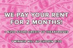 iHeartRaves Free Rent Sweepstakes