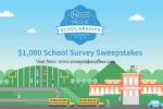 $1000 School Survey Sweepstakes