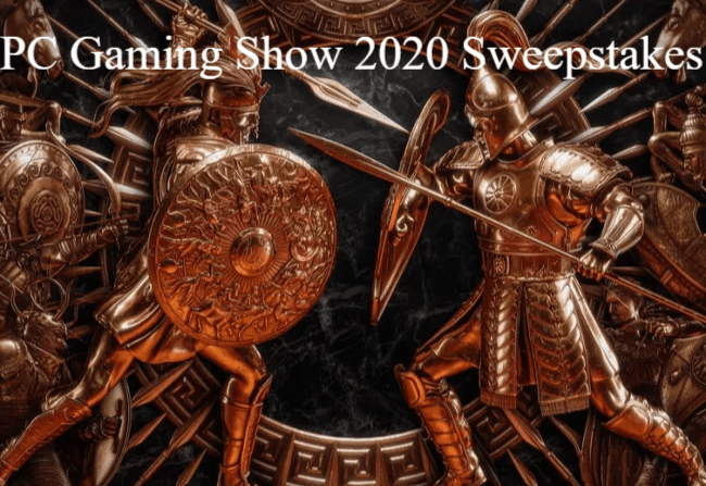 PC Gaming Show 2020 Sweepstakes