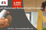 Shell Mastercard Reward Card Giveaway