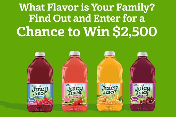 Juicyjuice.com Your Family Flavor Sweepstakes