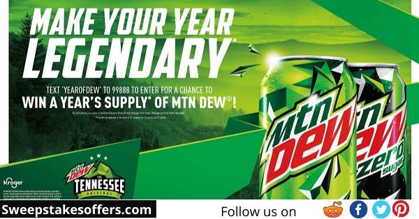 Pepsi MTN DEW Sweepstakes